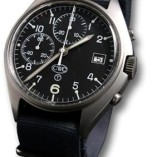 CWC Mechanical Chronograph Military grade watch with date