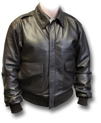 A2-USAAF-Leather-Flying-Jacket-with-side-pockets-large-brown-0