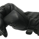 Begadi-Leather-gloves-full-grain-leather-lined-with-fleece-German-Army-Style-black-0-5