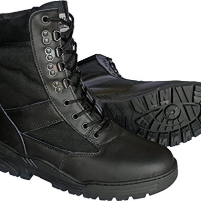 Black-Leather-Army-Combat-Patrol-Boots-Tactical-Cadet-Military-Security-Police-10-UK-0