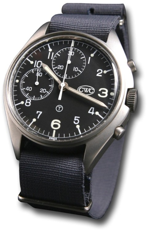 CWC Mechanical Chronograph Military Watch without date (2)