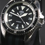 CWC Royal Navy Automatic Divers Watch silver non-date.