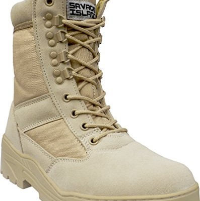 Desert-Army-Combat-Patrol-Boots-Tactical-Cadet-Military-Security-Seude-Leather-Tan-Jungle-8-UK-0