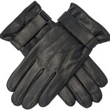 EEM-Mens-leather-glove-GORDON-made-of-genuine-hairsheep-nappa-leather-with-velcro-strap-black-size-L-0-0