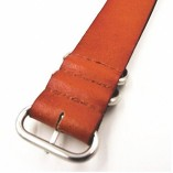 Genuine-Leather-Military-NATO-MOD-Watch-Strap-Various-Colours-and-Sizes-Brown-20mm-0-3