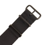 INFANTRY-Military-Black-NATO-Watch-Band-Nylon-Fabric-Strap-G10-4-Rings-20mm-Divers-Heavy-Duty-Strong-WS-NATO-BB-20M-0-0