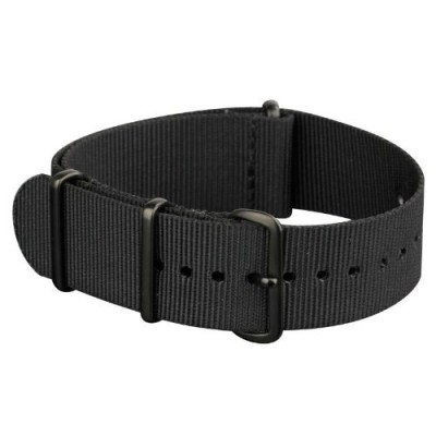 INFANTRY-Military-Black-NATO-Watch-Band-Nylon-Fabric-Strap-G10-4-Rings-20mm-Divers-Heavy-Duty-Strong-WS-NATO-BB-20M-0