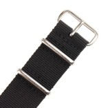 INFANTRY-Military-Black-NATO-Watch-Band-Nylon-Fabric-Strap-G10-4-Rings-Silver-Hardware-20mm-Divers-Strong-WS-NATO-B-20M-0-1