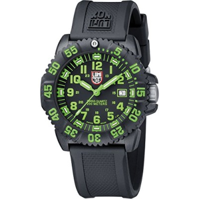 Luminox-LU3067-Navy-Seals-3050-BlackGreen-Dial-Mens-Watch-0