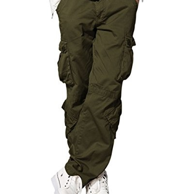 Match-Mens-Retro-Casual-Cargo-Trousers-3357Army-green40-0