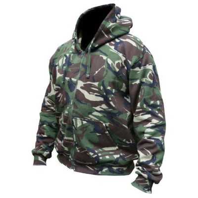 Mens-Hooded-Full-Zip-Top-Hoodie-Military-Combat-Army-DPM-Camo-Fleece-Jacket-New-Small-0