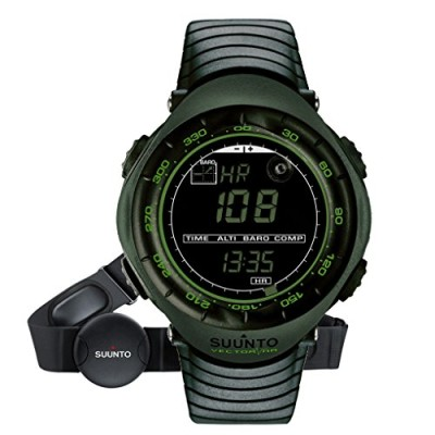 Suunto-Vector-HR-Military-Dark-Green-Outdoor-Sports-Watch-Heart-Rate-Monitor-0