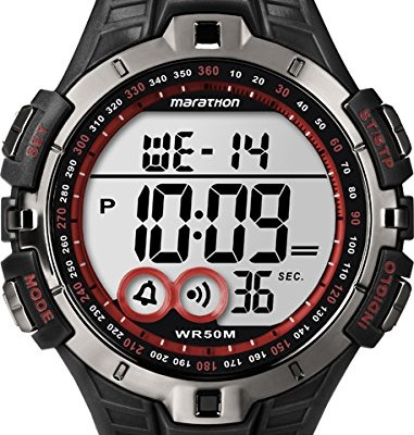 Timex-Ironman-Mens-Quartz-Watch-with-LCD-Dial-Digital-Display-and-Black-Resin-Strap-T5K423-0