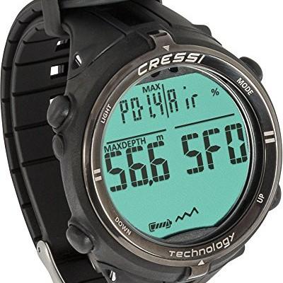 Cressi-Newton-Titanium-Dive-WatchComputer-Black-0